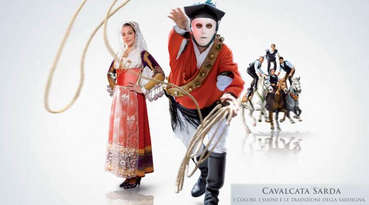 Cavalcata Sarda - jedes Jahr Ende Mai in Sassari