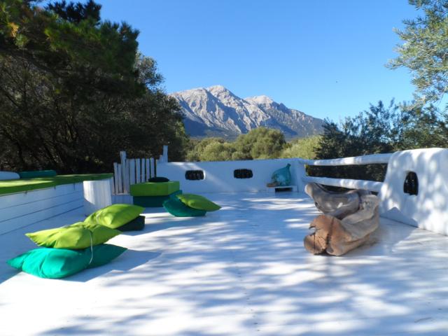 Wunderbar: terrazza dei desideri im Hotel Su Gologone