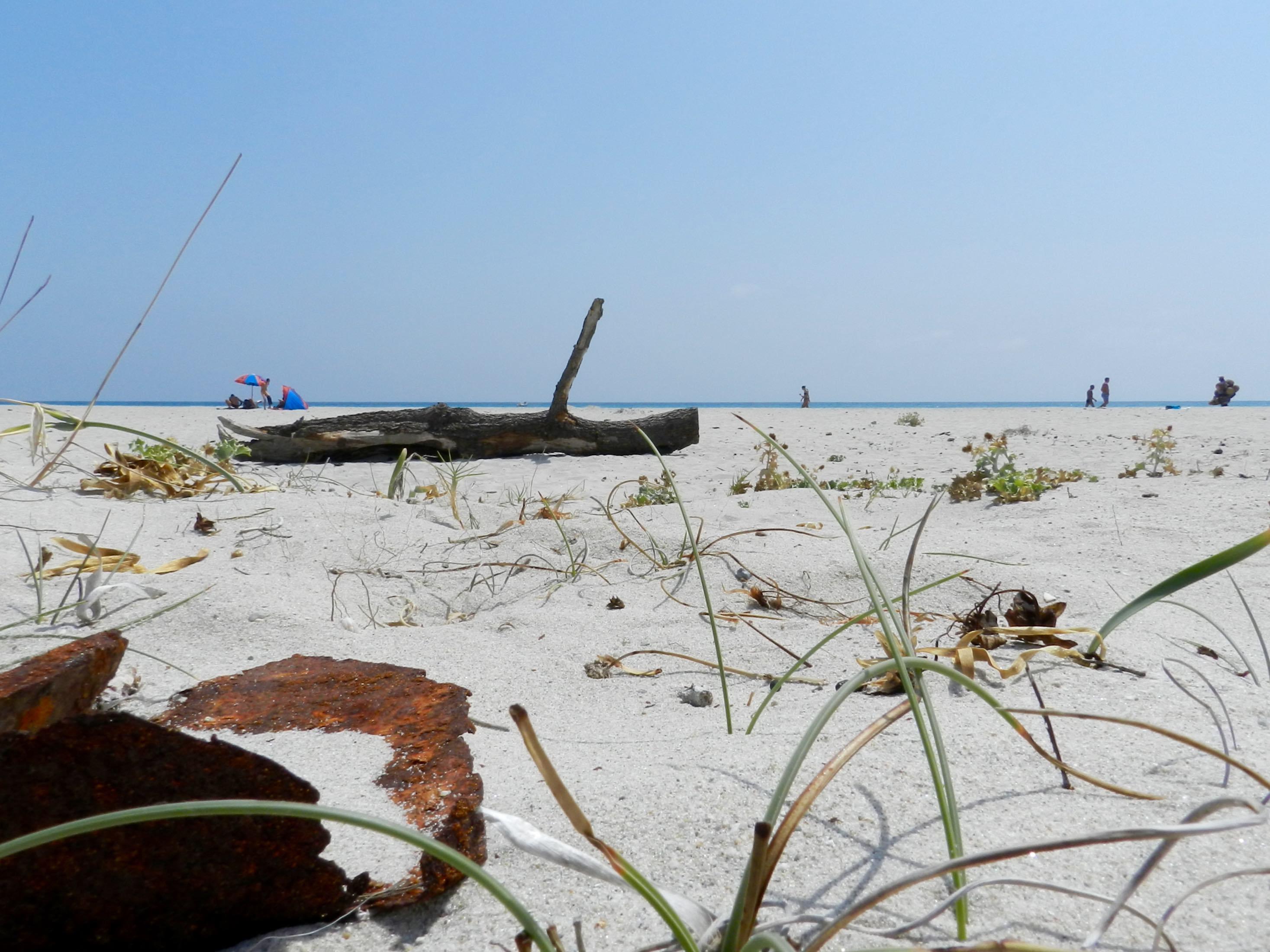 Der Strand von Berchida: viel Platz, egal wann