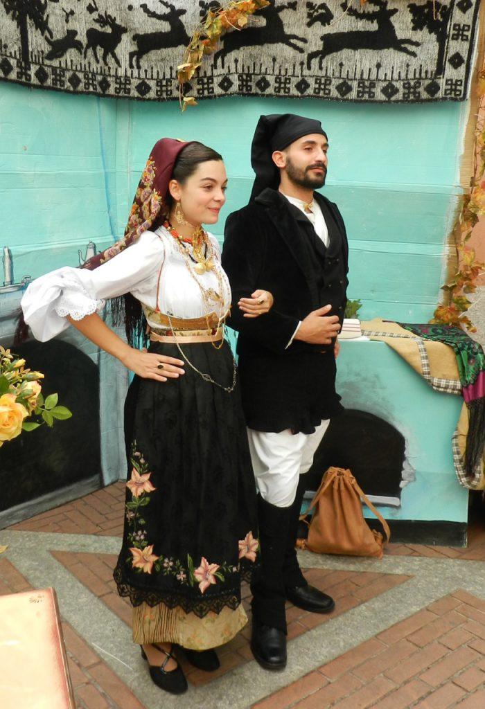 Die traditionelle Kleidung der Dorgalesen