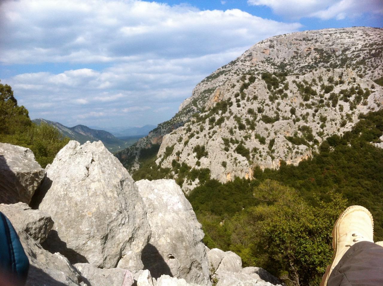 Slow Trekking auf dem Monte Tiscali: Ruhepunkte inklusive