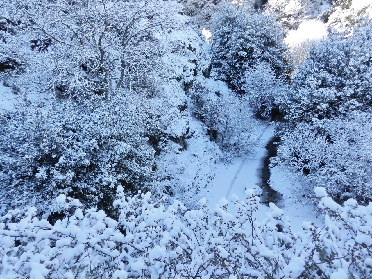 Traumhafte Winterwanderung im Gennargentu