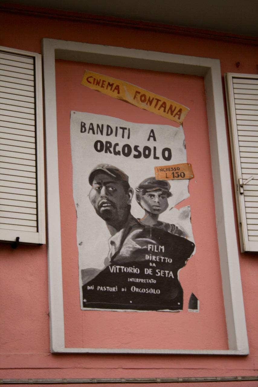 Filmplakat »Banditi a Orgosolo« als Murales