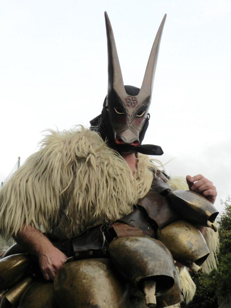 Su Boe in Ottana - eine der schönsten Figuren im traditionellen Karneval