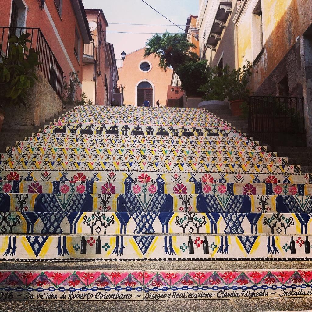 L'Arazzo di Santa Lucia: Idee Roberto Columbano, Realisierung Claudia Filigheddu