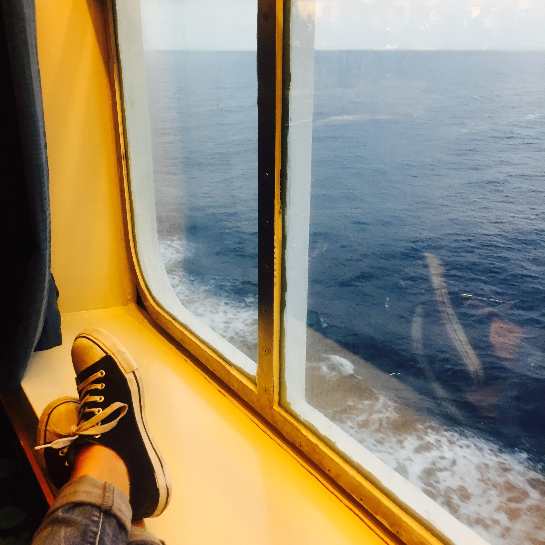 Endlich: Auf der Fähre nach Sardinien!