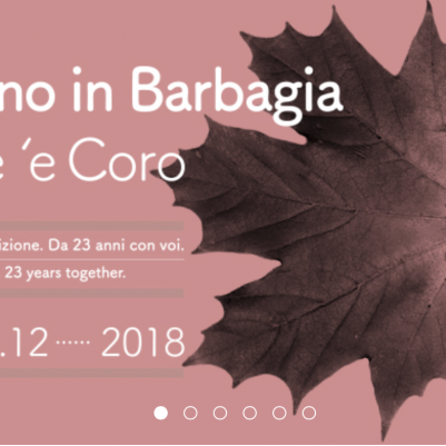 Herbst in der Barbagia 2018: Amore 'e Coro