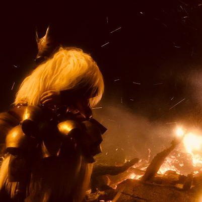 Beeindruckend und superschön - der Boe vor dem Feuer