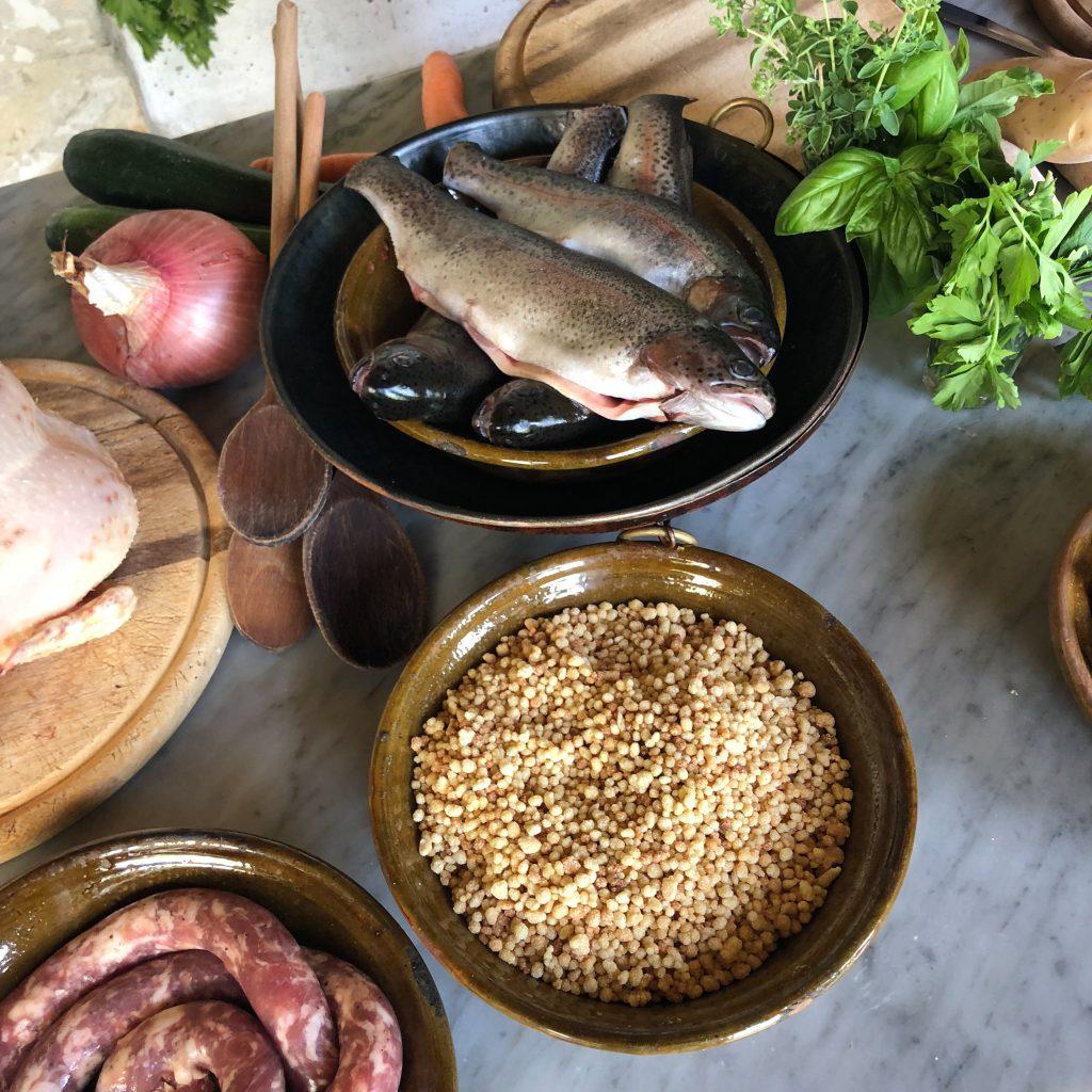 Landestypische Küche, mit guten regionalen Zutaten, nach antiken Rezepten: So geht Sardinien!