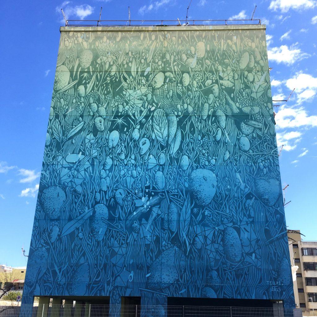 """""""Sotto la città"""" - Street Art in der Via Tevere"""