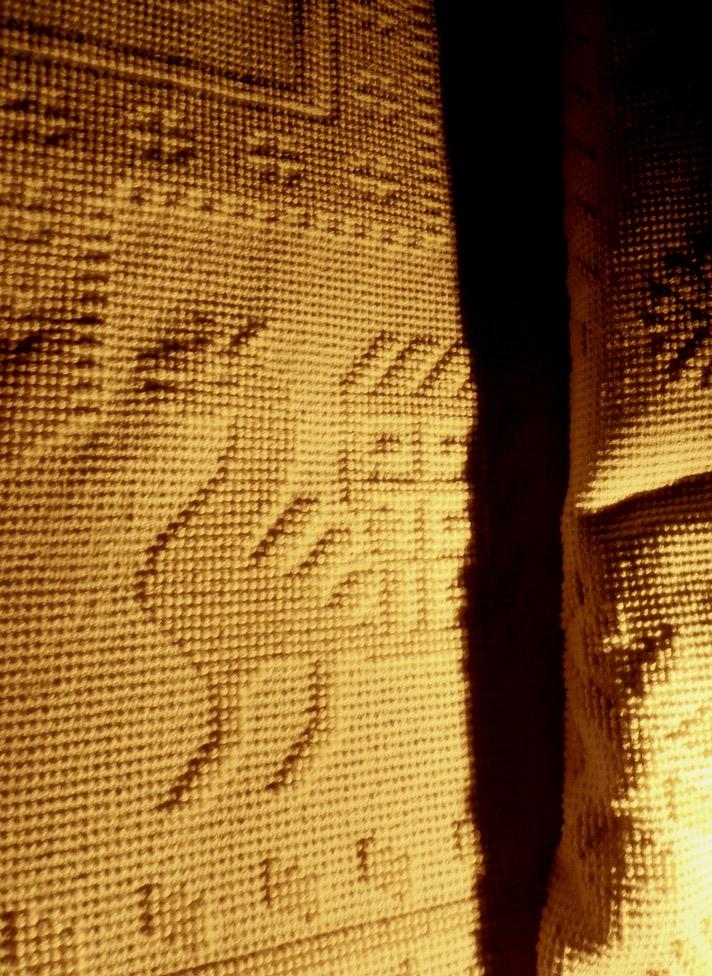 Handgewebter sardischer Teppich ... nicht billig, aber preis-wert
