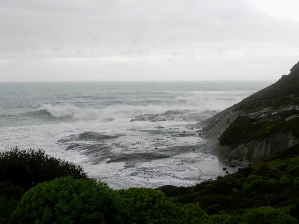 Das Meer bei Bosa - im Winter spielt es manchmal graue Nordsee