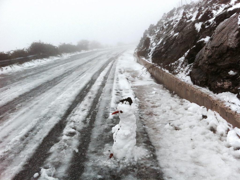 Winterreifen haben auch auf Sardinien Sinn!