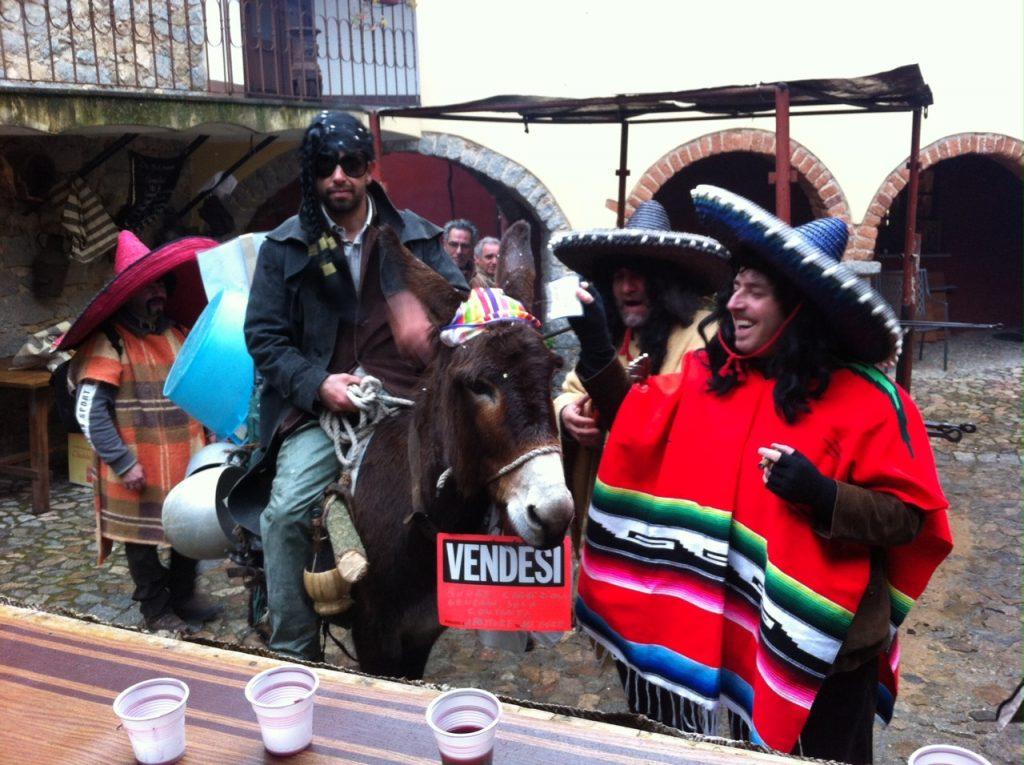 Der sardische Karneval kann auch lustig sein!