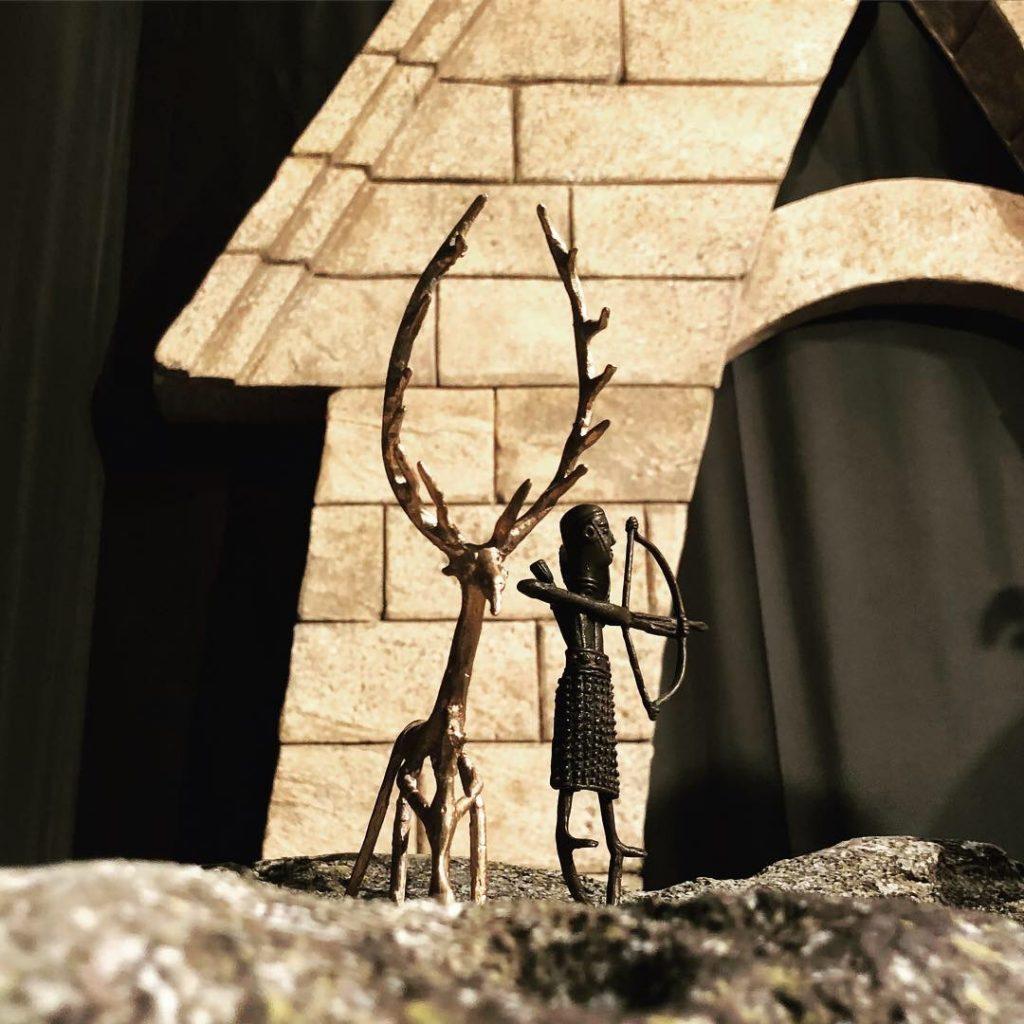 Kleine Bronzefiguren wurden als Opfergaben in Brunnenheiligtümern verwendet
