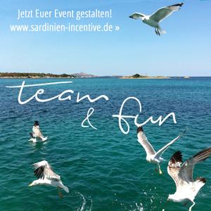team & fun - Euer Event auf Sardinien - jetzt planen