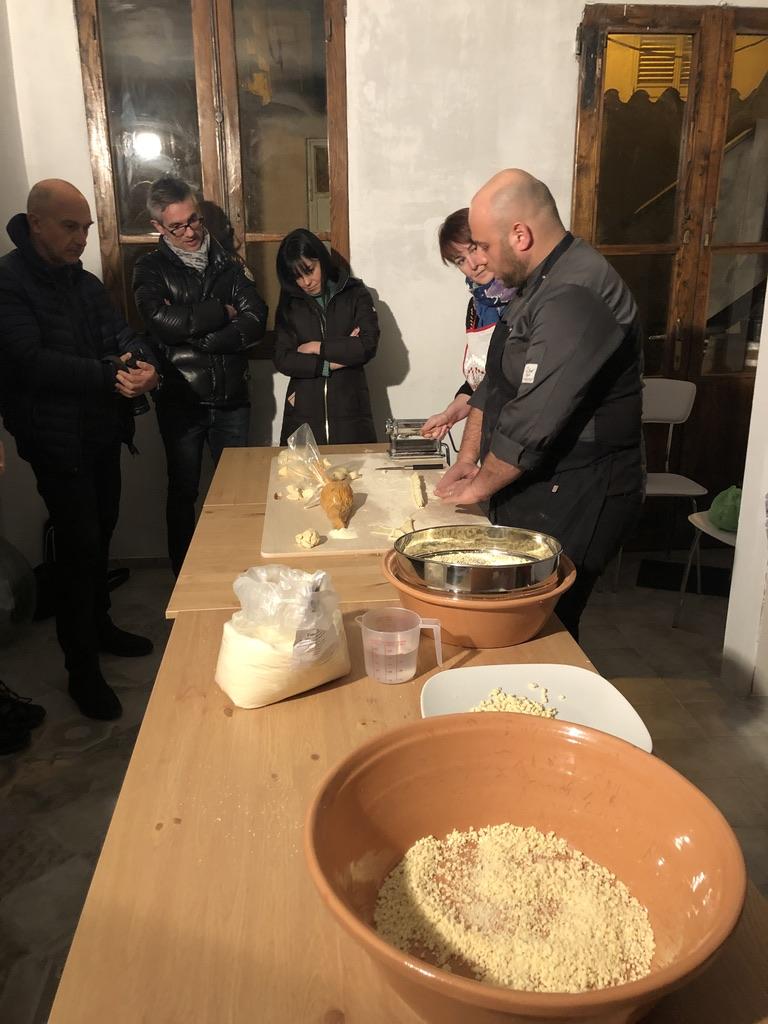 Cooking class mit Mauro Ladu, Ristorante Abbamele - wir erwarten sehnlichst die Eröffnung!