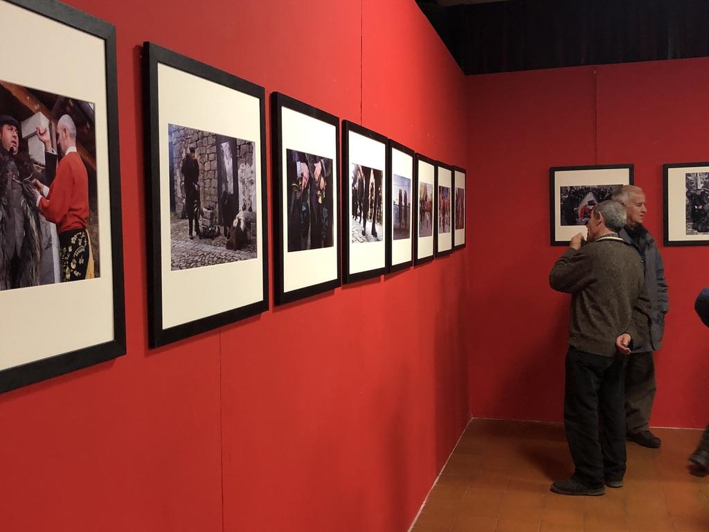 Zu den Festen organisiert das Museum auch Fotoausstellungen, wie hier zu Sant'Antonio