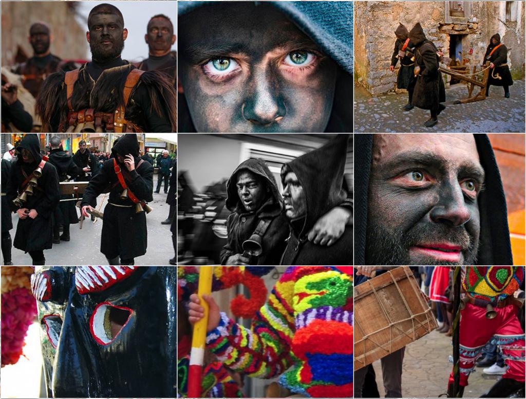 Impressionen vom MaMuMask Festival in Mamoiada (Quelle: www.mamumask.org)