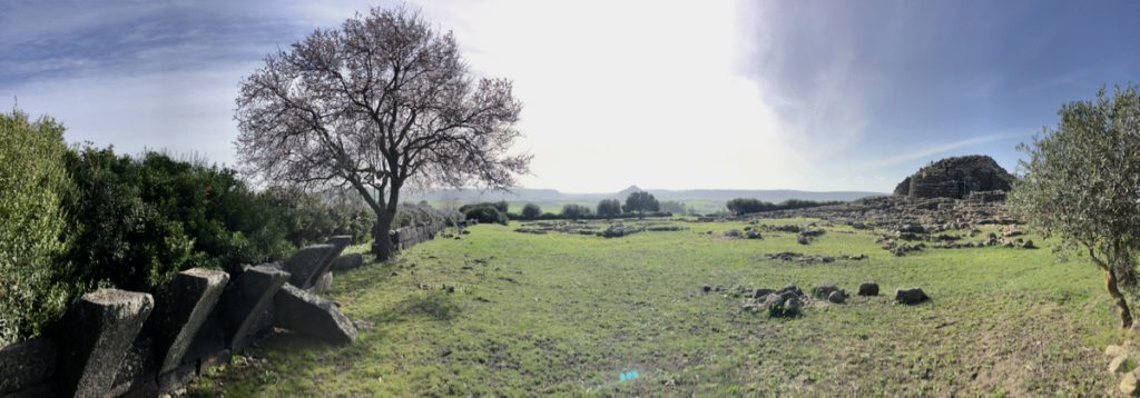 Panorama von Su Nuraxi, Barumini
