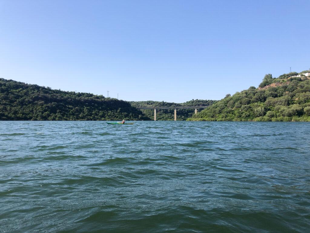 Die Brücke kennt fast jeder, der schonmal nach Cala Gonone gefahren ist.