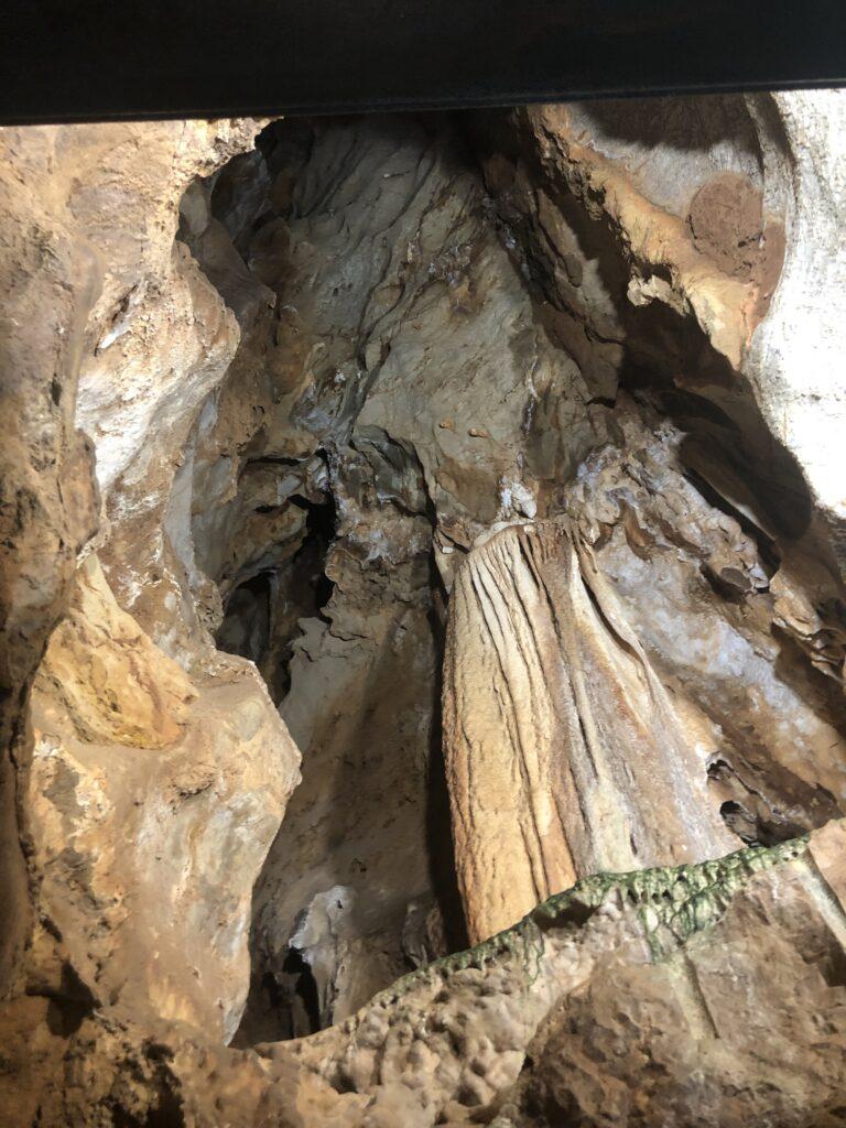 Porto Flavia ist eigentlich eine Grotte ...