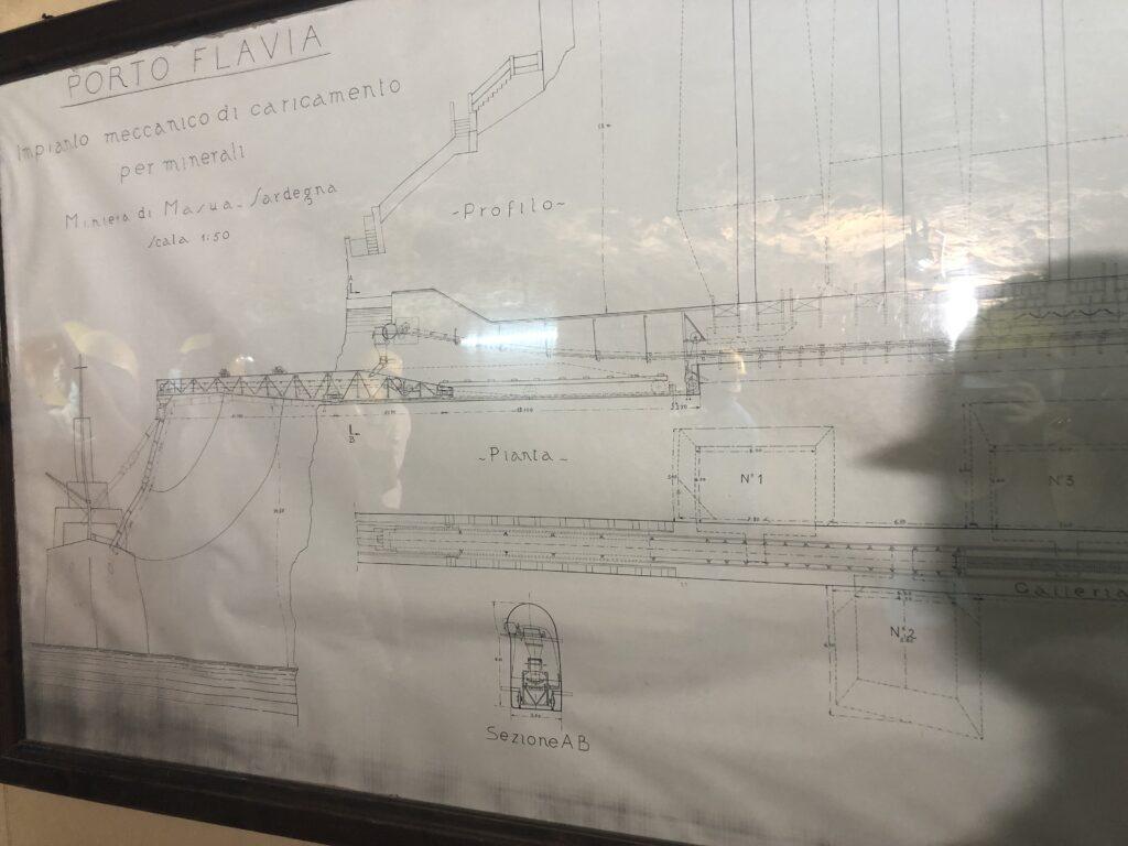 Konstruktionsplan Porto Flavia, Masua