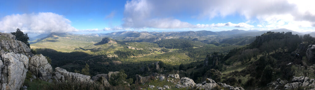 Panorama am Monte Novo San Giovanni