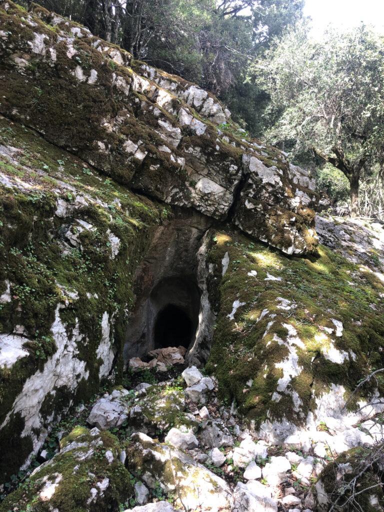 Ja, im Supramonte kann man sich gut verstecken ... ob Räuber oder Wildschwein ...