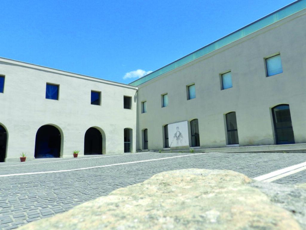 Viel Raum für Kunst im Lazaretto Cagliari im Viertel Sant'Elia