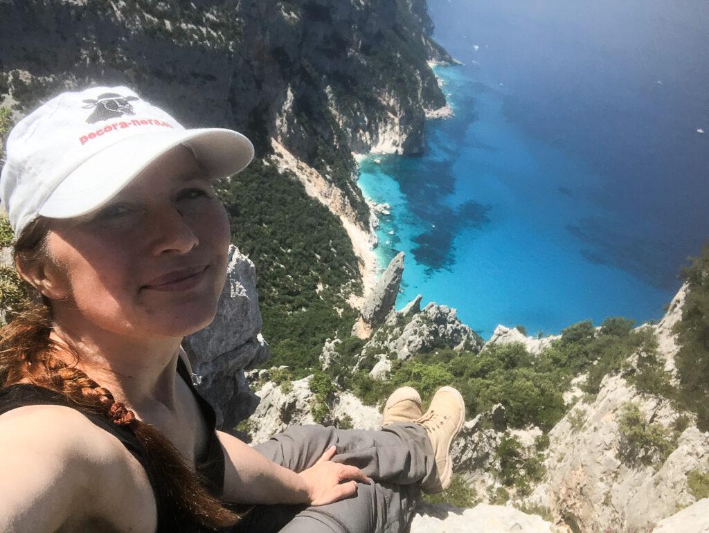 """""""Vertigo"""" heißt die Höhenangst auf Italienisch. Ich hab manchmal weiche Knie, hier aber grad nicht :)"""