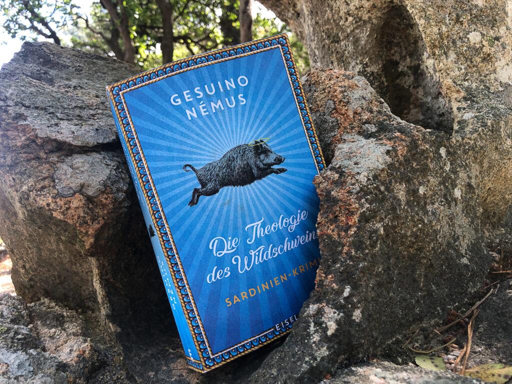 Ein Buch in seiner natürlichen Umgebung - in den Bergen Sardiniens :)