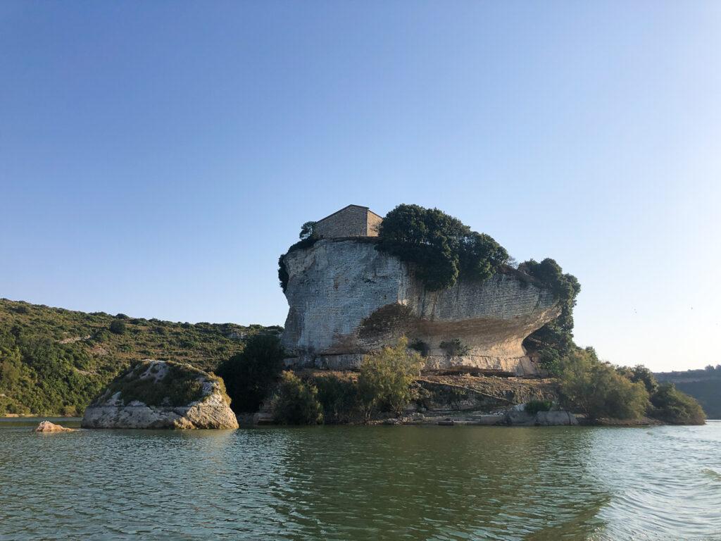 Die Kirche San Sebastiano ist nur noch über das Wasser erreichbar