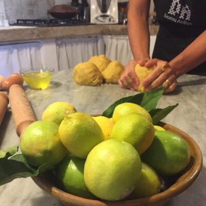 Natürliche Küche in Südsardinien